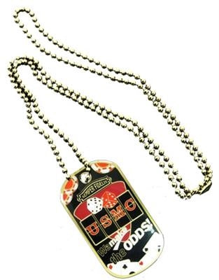 U.S. Marines Casino Dog Tag