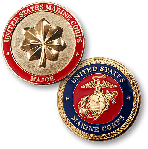 U.S. Marines Major Coin