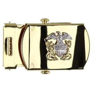 Navy Belt Buckle: Officer - Female