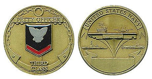 Rank, Navy PO3 Coin