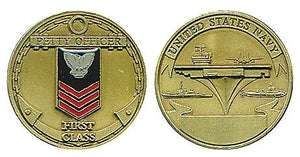 Rank, Navy PO1 Coin