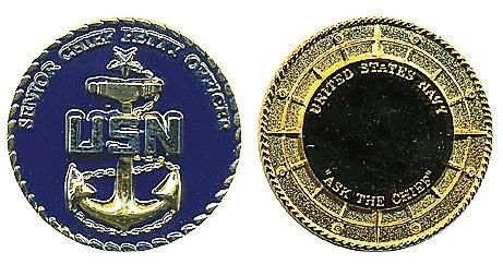 Rank, Navy Senior Chief Petty Officer Coin