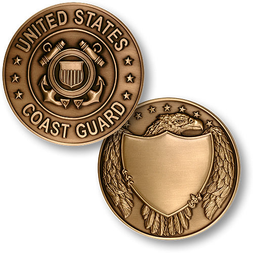 Coast Guard Large Medallion