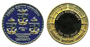 Rank, Navy CPOs E7-E9 Coin