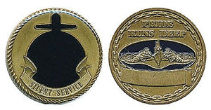 Navy Submarine Service-Gold Coin