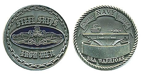 Navy Surface-Silver Coin