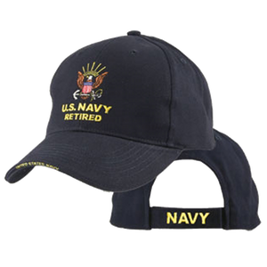 Navy Retired Cap