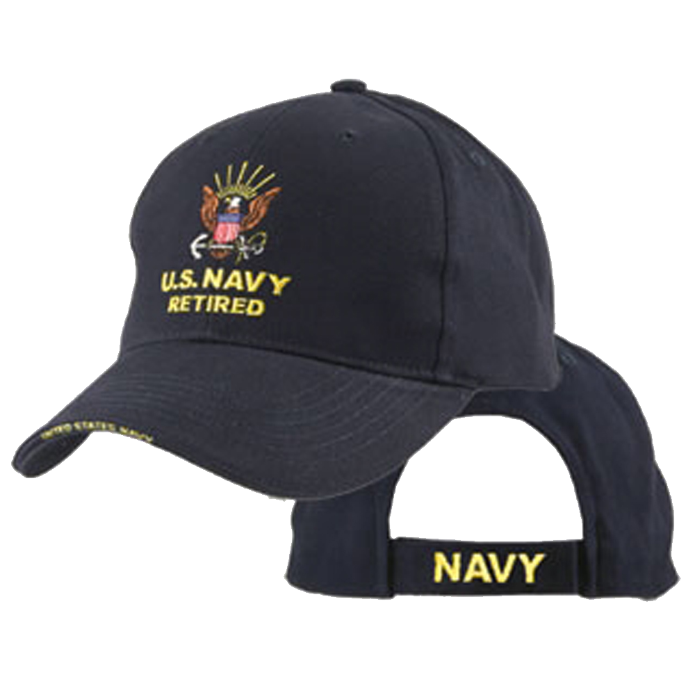 Navy Retired Cover