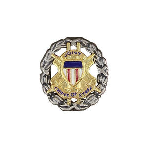 Lapel Pin: Joint Chief Of Staff - Oxidized