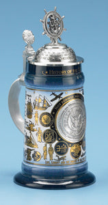HISTORY OF THE U.S. NAVY STEIN