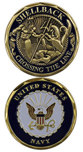 Challenge Coin - Shellback