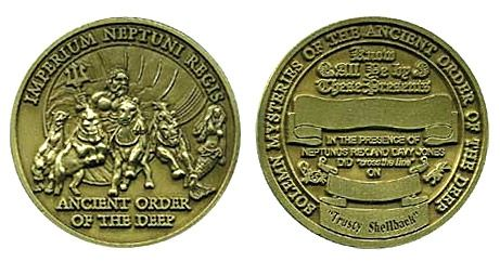 Shellback Coin