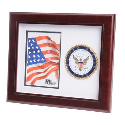U.S. Navy Medallion 4-Inch by 6-Inch Portrait Picture Frame