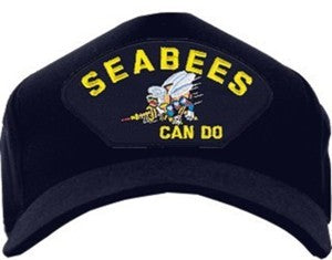 "U.S. Navy Seabees ""Can Do"" Cap"