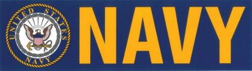 Navy with Logo Decal