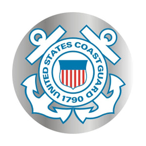 Coast Guard Rainbow Holographic Decal