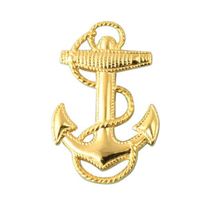 Gold USN Anchor Pin