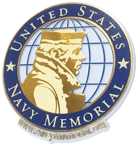 U.S. Navy Memorial Official Logo Magnet