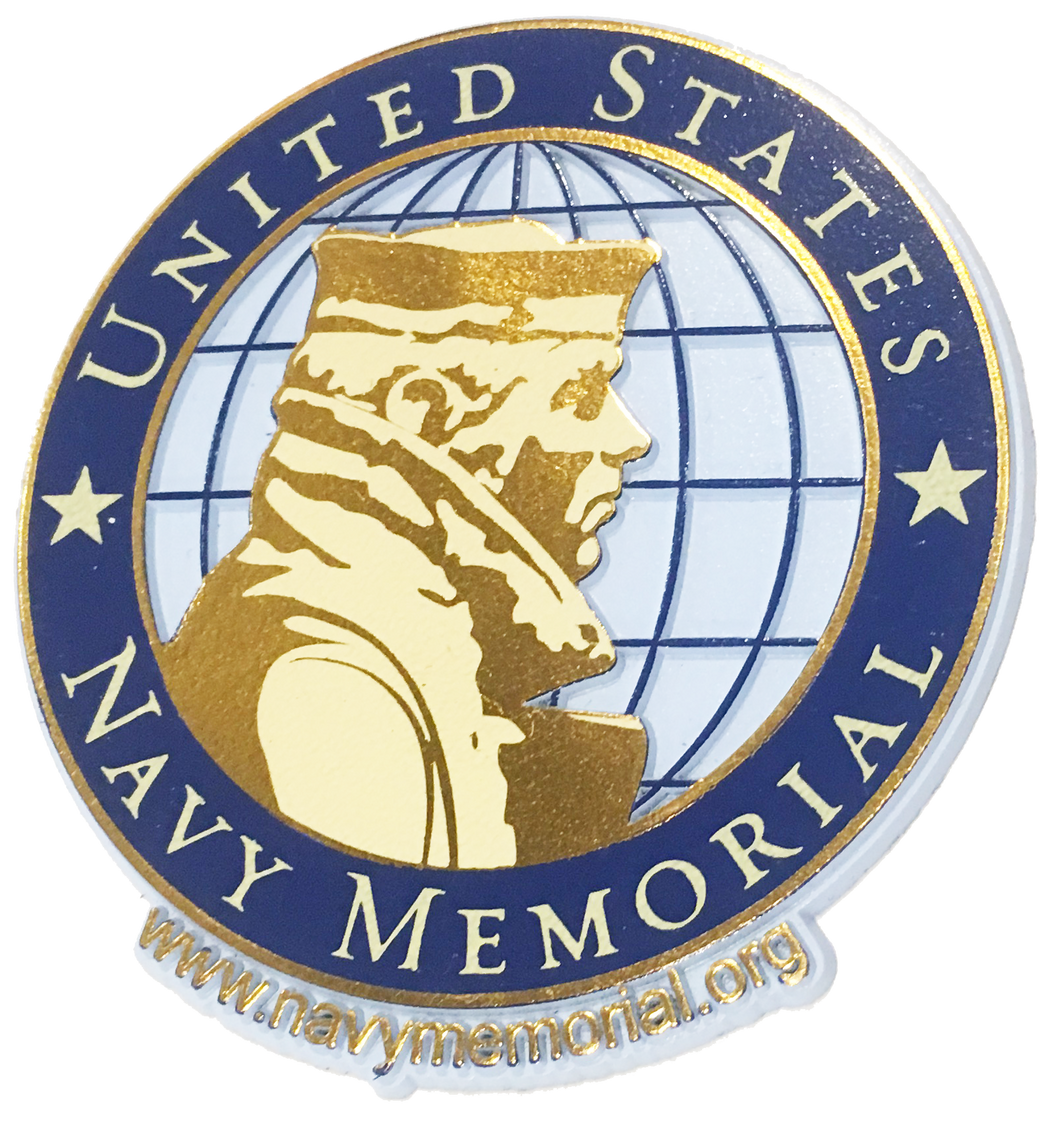 United States Navy Memorial Official Logo Magnet