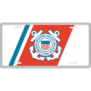 U.S. Coast Guard License Plate