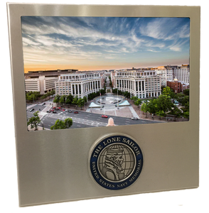United States Navy Memorial Picture Frame