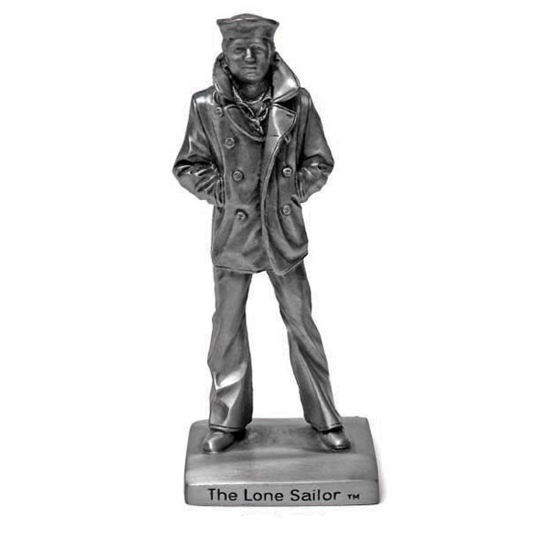 The Lone Sailor Pewter Statuette