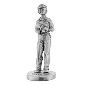 Female The Chief Pewter Statuette