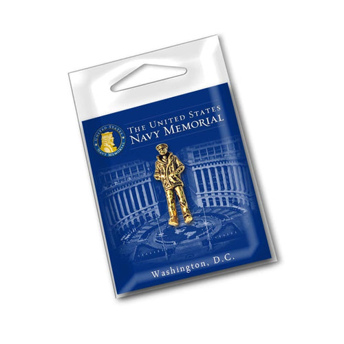 The Lone Sailor Lapel Pin
