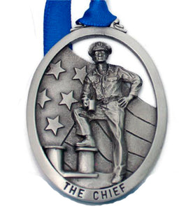 The Chief Pewter Ornament
