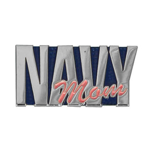 Navy Mom Pin