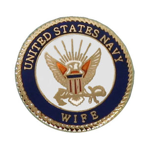 Navy Wife Pin