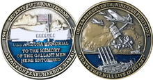 Pearl Harbor 75th Anniversary Challenge Coin