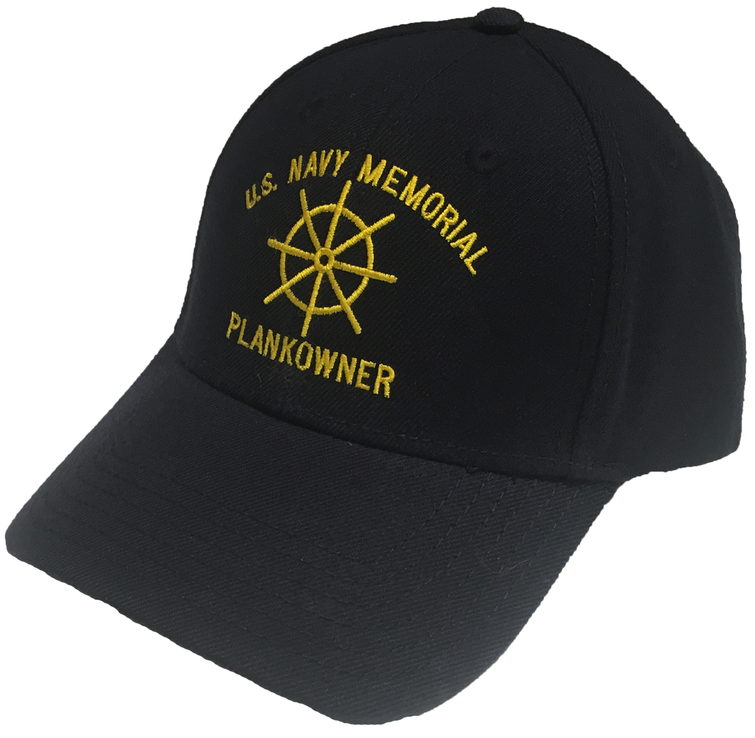 United States Navy Memorial Plankowner Cap