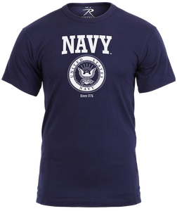 U.S. Navy Emblem Athletic Tee