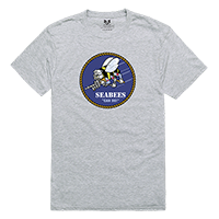 U.S. Navy Seabees Relaxed Graphic Tee