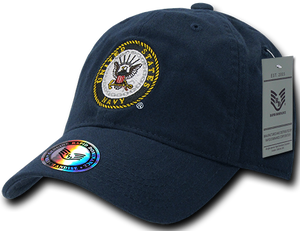 "U.S. Navy Logo Cap - ""The Lieutenant"""