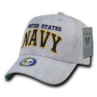 U.S. Navy Heather Grey Cap