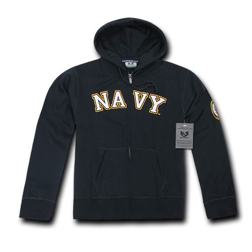 U.S. Navy Full-Zip Fleece Hoodie