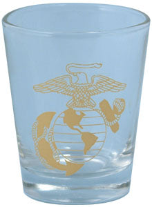 U.S. Marines Shot Glass