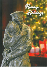 Assorted U.S. Navy Memorial Holiday Cards 12 Pack