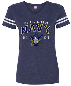 Navy Juniors Tee