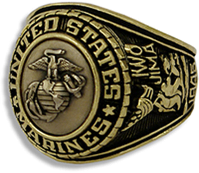US Marine Corps Ring - Style No. 21