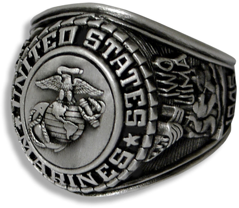US Marine Corps Ring - Style No. 22