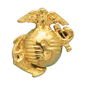 USMC Gold EGA Pin