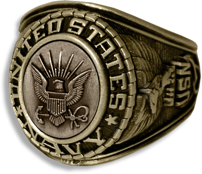 US Navy Ring - Style No. 21