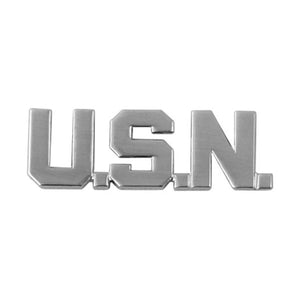 USN Letter Bar Pin