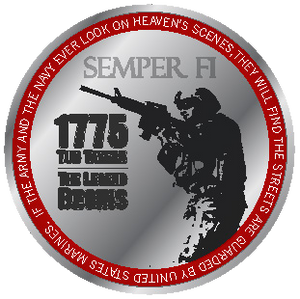 Year of the Marine Corps Challenge Coin