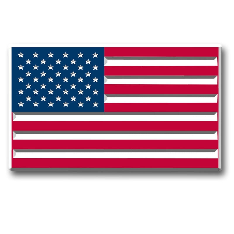 American Flag Military Magnet