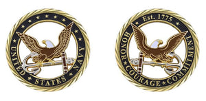 US Navy Eagle Cut-Out Coin