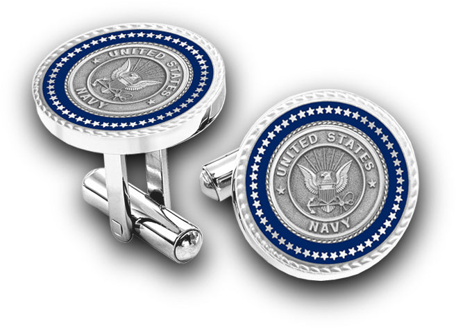US Navy Presidential Cuff Links